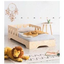 Drewniane pojedyncze łóżko dziecięce 16 rozmiarów - filo 5x marki Producent: elior