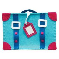 Filcowe robótki, walizka niebieska, marki Stnux