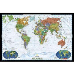 Świat Polityczny World Decorator mapa ścienna na podkładzie korkowym National Geographic z kategorii mapy