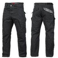 Spodnie bojówki Pit Bull Pitweight 2 - Czarne (326001.9000), kolor czarny