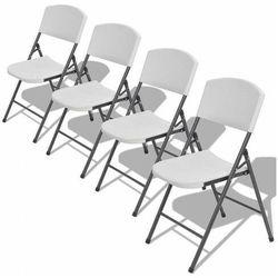 Elior Zestaw składanych krzeseł ogrodowych - andel
