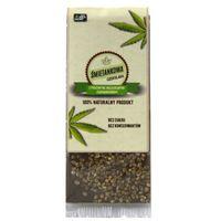 Czekolada śmietankowa z prażonymi nasionami konopi bez cukru 50 g