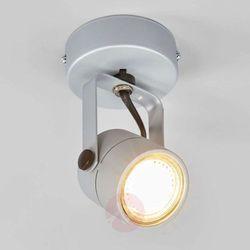 Kinkiet lampa oprawa ścienna Spotline Spot 79 1x50W GU10 srebrnoszary QPAR51 132024 WYPRZEDAŻ!!!OSTATNIA SZTUKA!!! (4024163103428)