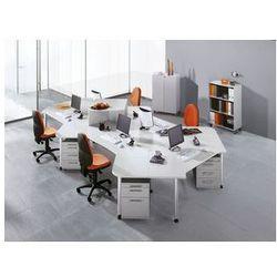Contact - regał biurowy,2 półki marki Hammerbacher