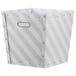 KIDS CONCEPT Pudełko na akcesoria Star szary/biały - produkt z kategorii- Dekoracje i ozdoby dla dzieci