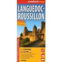 ExpressMap Langwedocja Roussillon mapa samochodowa turystyczna laminowana 1:300 000