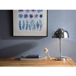 Beliani Lampa stołowa chromowana senette