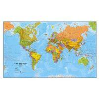 Świat - mapa polityczna marki B2b partner