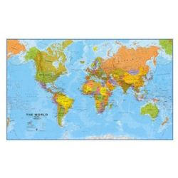 Świat - mapa polityczna, marki B2b partner