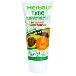 Herbal time  marigold and avocado odżywcza maska do włosów, kategoria: odżywianie włosów