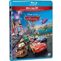 Auta 2 3D (Blu-Ray) - John Lasseter, Brad Lewis (7321917501125)