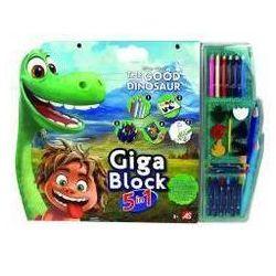 Giga Block - Zest. dla artysty 5w1 -Dobry dinozaur - sprawdź w InBook.pl