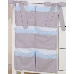 przybornik na łóżeczko słonik błękitny marki Mamo-tato