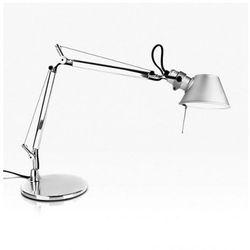 Artemide a011800 tolomeo micro lampa biurkowa aluminium
