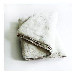 Taftyli Narzuta / dywan skórzany duży biały