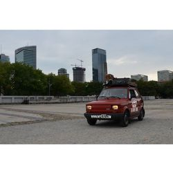 Prowadź i zwiedzaj - wycieczka po Warszawie Fiatem 126p - Warszawa w pigułce - 1-2 osoby, towar z kategorii: