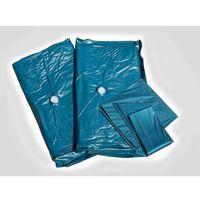 Materac do łóżka wodnego, dual, 200x200x20cm, mocne tłumienie wyprodukowany przez Beliani