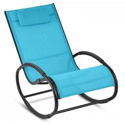 Blumfeldt Retiro Fotel bujany aluminium poliester niebieski (4260457489339)