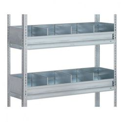 Ogrodzenie półkowe dla FIX, CLIP, 1000x500 mm
