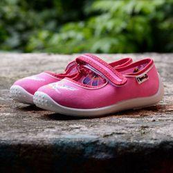 Baleriny 'Slipers.pl BRBR', /rozm. 25-36, różowe/ z kategorii Pozostałe dla dzieci