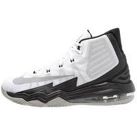 Nike Performance AIR MAX AUDACITY II Obuwie do koszykówki white/reflective silver/black/wolf grey/pure platin