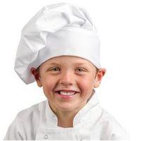 Dziecięca czapka | biała, kolor biały