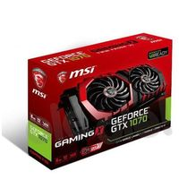MSI GeForce CUDA GTX1070 8GB DDR5 256BIT DVI/HDMI/3DP BOX DARMOWA DOSTAWA DO 400 SALONÓW !!