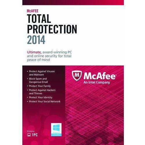 total protection 2014 1 pc licencja na rok od producenta Mcafee