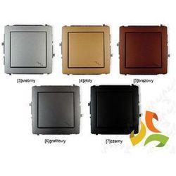 Wyłącznik schodowy pojedynczy KARLIK DECO metalik - oferta [9574d84c434f72c5]