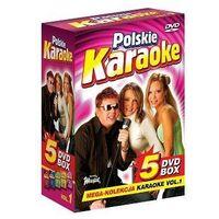 Polskie Karaoke VOL. 1 - Mega Kolekcja Karaoke (5 płyt DVD), 5902143600053