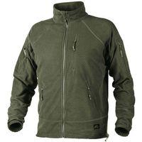 bluza Helikon Alpha TACTICAL Grid Fleece Jacket olive green (BL-ALT-FG-02)