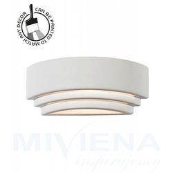 Viokef Ceramic kinkiet 1 biały 32,5 cm