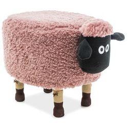 Pufa zwierzak - - owieczka oliwia - różowy marki Signal