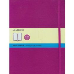 Moleskine Soft Extra Large Orchid Purple Dotted Notebook, rok wydania (2014)