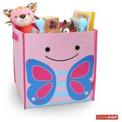 Skip hop  pudełko na zabawki jumbo zoo - motyl