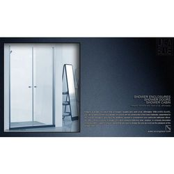 DRZWI PRYSZNICOWE AXISS GLASS AN6222K 1000mm z kategorii Drzwi prysznicowe