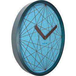 Zegar ścienny Calmest turkus by Nextime, 3199