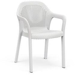 Krzesło ogrodowe Lechuza białe, 10900
