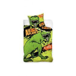 Animal Planet T-rex pościel 160x200