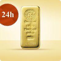 1000 g (1 kg) Sztabka złota - wysyłka 24 h! - 24 h