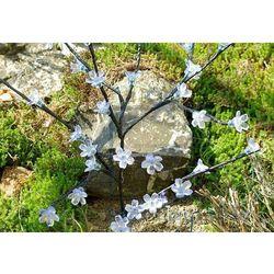 Solarne lampki kwiatowe drzewo garth 36 led zimno-biała marki Garthen