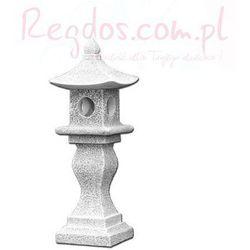 Lampa betonowa ogrodowa, lampa z nóżką 131cm
