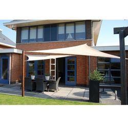 Home&garden Zacieniacz przeciwsłoneczny trójkątny 500 cm beige