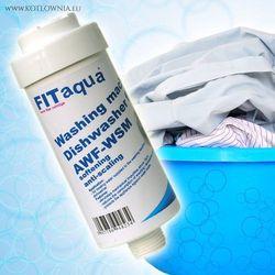 Fitaqua Filtr pralkowo-zmywarkowy awf-wsm fit aqua biały, kategoria: dzbanki filtrujące