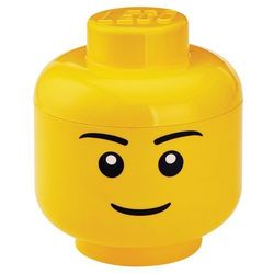 Pojemnik lego główka chłopiec l - lego pojemniki marki Room copenhagen