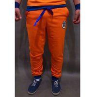 Dragon Ball spodnie dresowe z Kanji Goku - pomarańczowe (regular fit) - Unisex \ Kanji Goku