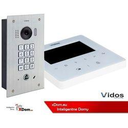 Zestaw wideodomofonu cyfrowego z szyfratorem Vidos DUO S1411D_M1022W