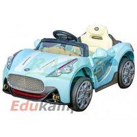 Auto na akumulator 2 x 30w otwierane drzwi je108 sportowy - kolor aqua marki Edukamp