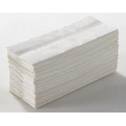 Ręczniki składane, lignina, naturalny biały, opak. 3750 ręczników. Higieniczne i