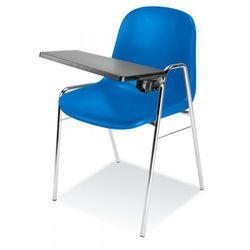 Krzesło BETA t - do poczekalni i sal konferencyjnych - z pulpitem, konferencyjne, na nogach, stacjonarne
